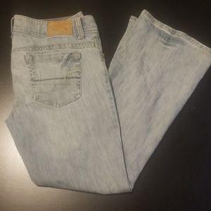 American Eagle Jeans 12 Short AE Artist